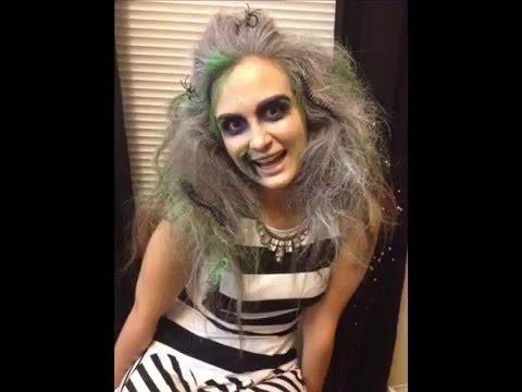 Beetlejuice Halloween Costume Female Youtube