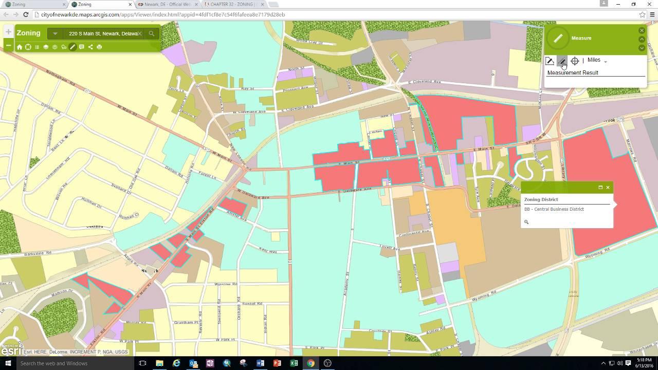 City of Newark Zoning Map YouTube