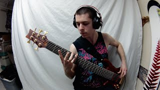 CRYPTOPSY: Crown of Horns (Bass Cover)