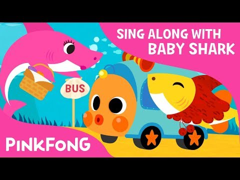 Baby Shark on the Bus | Sing along with baby shark | Pinkfong Songs for Children