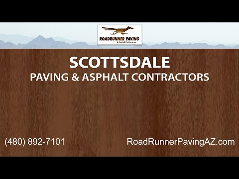 Scottsdale Paving and Asphalt Contractors | Roadrunner Paving and Asphalt Maintenance