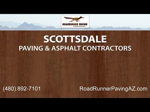 Scottsdale Paving and Asphalt Contractors | Roadrunner Paving and Asphalt Maintenance