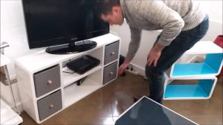 How to make a TV fit in a small space