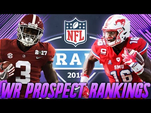 Top 10 Wide Receiver Prospects in the 2018 NFL Draft