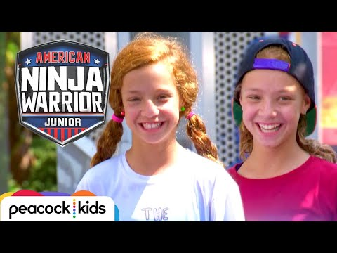 [FULL CLIP] AMERICAN NINJA WARRIOR JUNIOR | TWIN VS. TWIN BATTLE