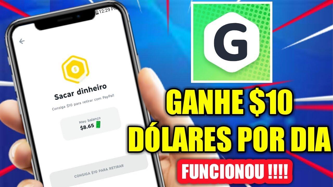 COMO BURLAR O APP GAMEE - GANHE $10 DÓLARES POR DIA/MÉTODO 100% FUNCIONAL