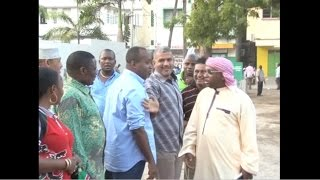 Sonko, Joho clash during the launch of National street lighting programme