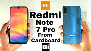 Redmi Note 7 Pro From Cardboard | 48MP Camera | How To make Phone | Bi