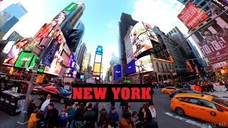 Trying Pizza in New York Times Square USA vs Australia comparison - Travel Vacation Vlog Episode 2