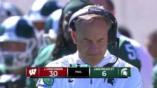 Badgers Defense Leads the Way to 30-6 Win Over Michigan State
