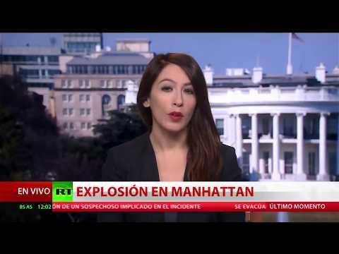 Explosión en una terminal de autobuses de Nueva York