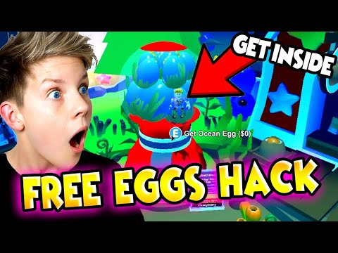 How To Get INSIDE The GUMBALL MACHINE U0026 UNLOCK FREE Ocean Eggs In Adopt Me!!