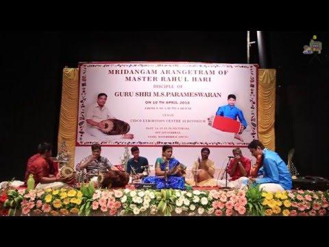 Arangetram - Master Rahul Hari - 07 - Mayil Vahana Valli Mana Mohana by Bombay Lakshmi Rajagopalan