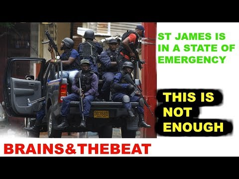 ST JAMES IS IN A STATE OF EMERGENCY