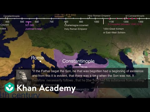 Arian Controversy and the Council of Nicaea | World History | Khan Academy