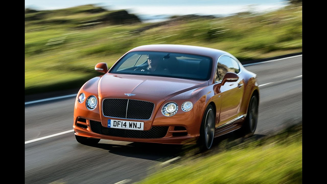 Driving Bentley's new 206mph Continental GT Speed on the track - YouTube