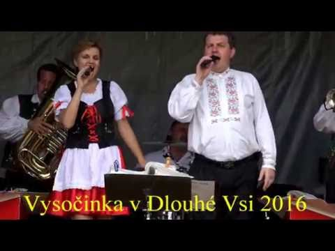 Vysočinka v Dlouhé Vsi (HB) 2016. Úžasné vystoupení s novou polkou.