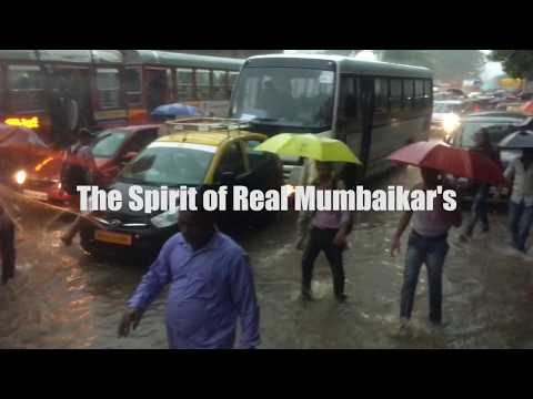 The Spirit of Real Mumbaikars | Mumbai floods 2017