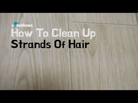 Life Hacks How To Clean Up Strands Of Hair Youtube