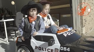 Little Heroes 20 - The Police Car, The Sheriff, The Talking Dog, The Deputy and The Harley