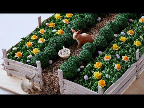 Martha S Bedford Easter Cake Martha Stewart Youtube