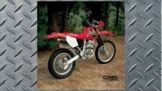 Клаймер керівництво з експлуатації Honda XR400R, 1996-2004 (ручна # M3202) в BikeBandit.com