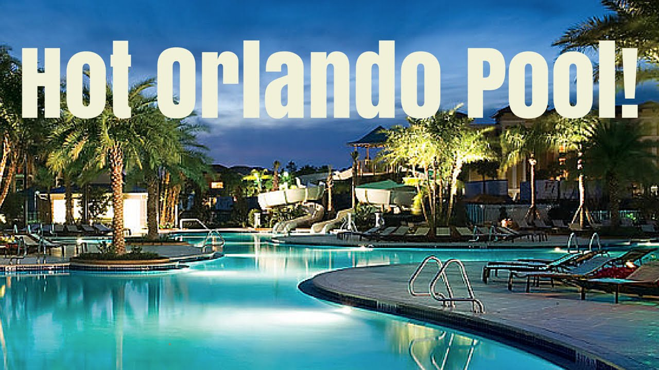BLUEGREEN VACATIONS FOUNTAIN RESORT ORLANDO POOL - YouTube