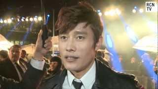 Storm Shadow Byung-hun Lee Interview - G.I. Joe Retaliation UK Premiere