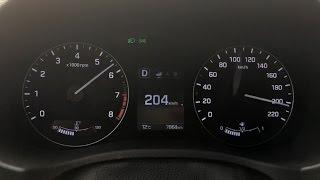 Максимальная скорость Hyundai Creta 2.0 4WD