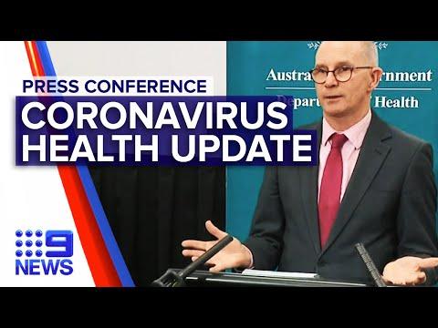 Coronavirus: Deputy CMO updates on COVID-19 | Nine News Australia