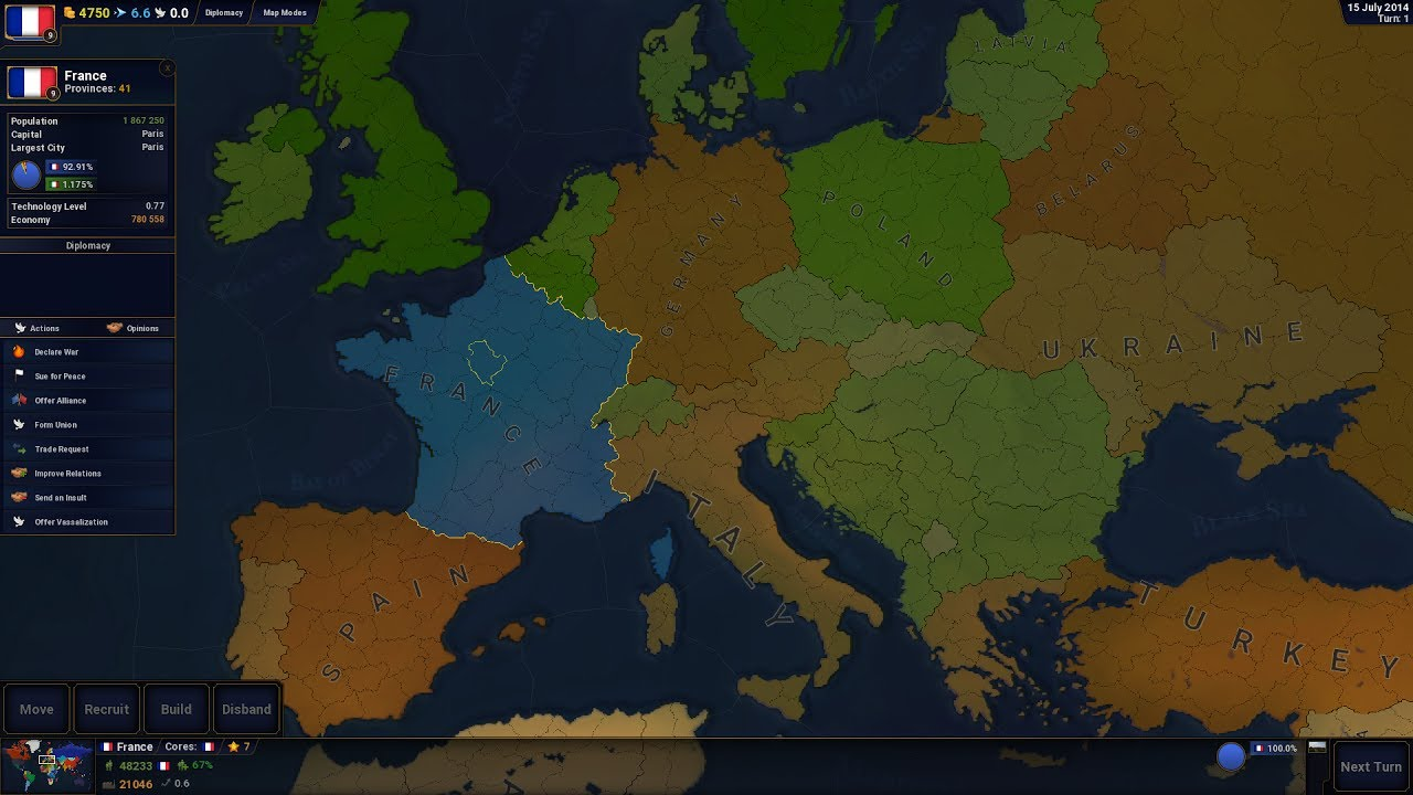 Age of Civilizations II - Manage Diplomacy