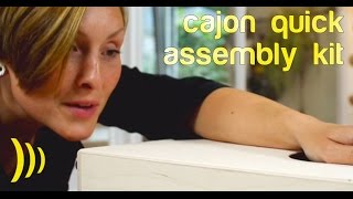 Do it yourself Cajon / Schlagwerk CBA1S/CBA2S Cajon quick assembly kit