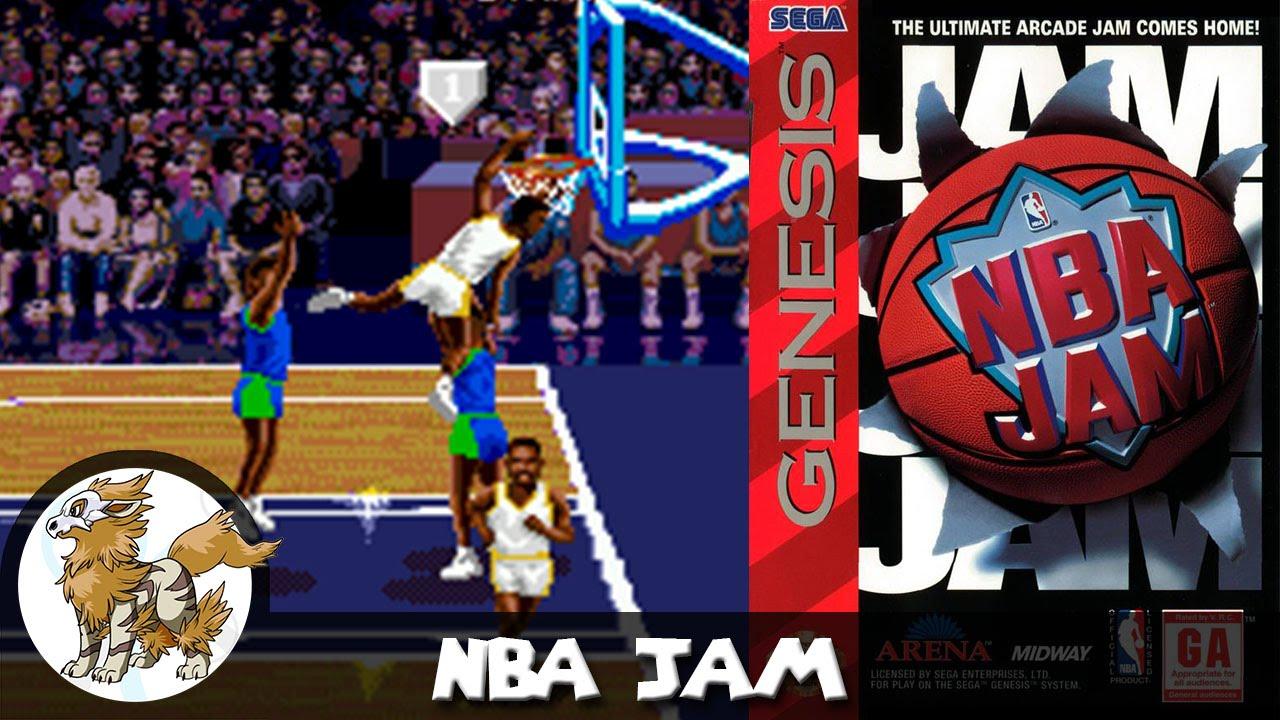 Nba Jam Review For Sega Genesis Youtube