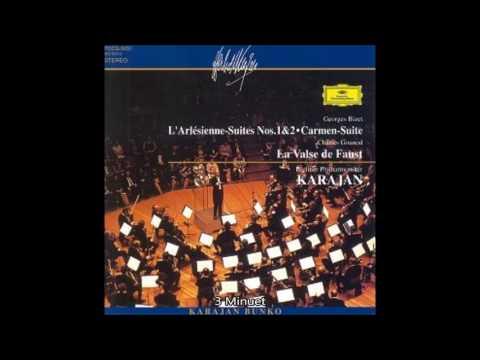 """Bizet - """"L'Arlésienne""""Die Zweite Suite Karajan Berliner Philharmoniker"""