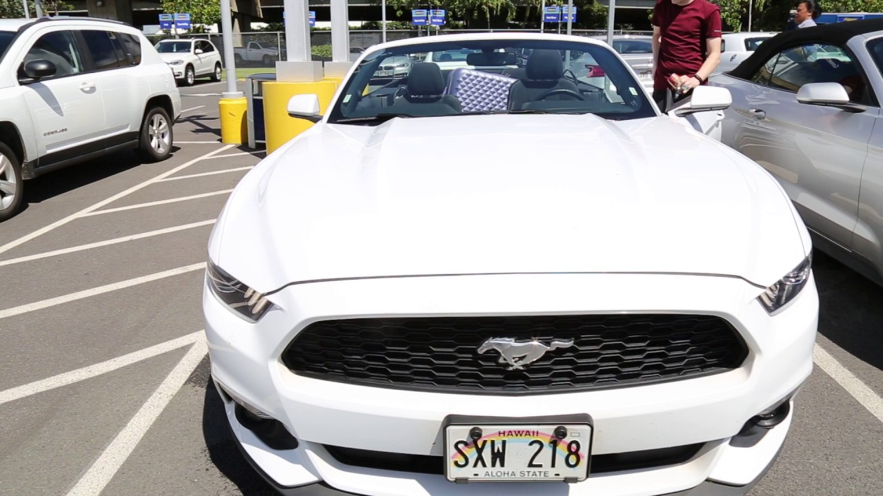 Ford Mustang Convertible Alamo Las Vegas Ford Mustang Convertible