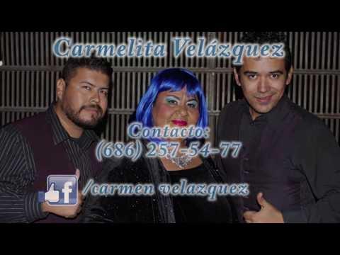 Carmelita Velazquez cantante versátil e imitadora