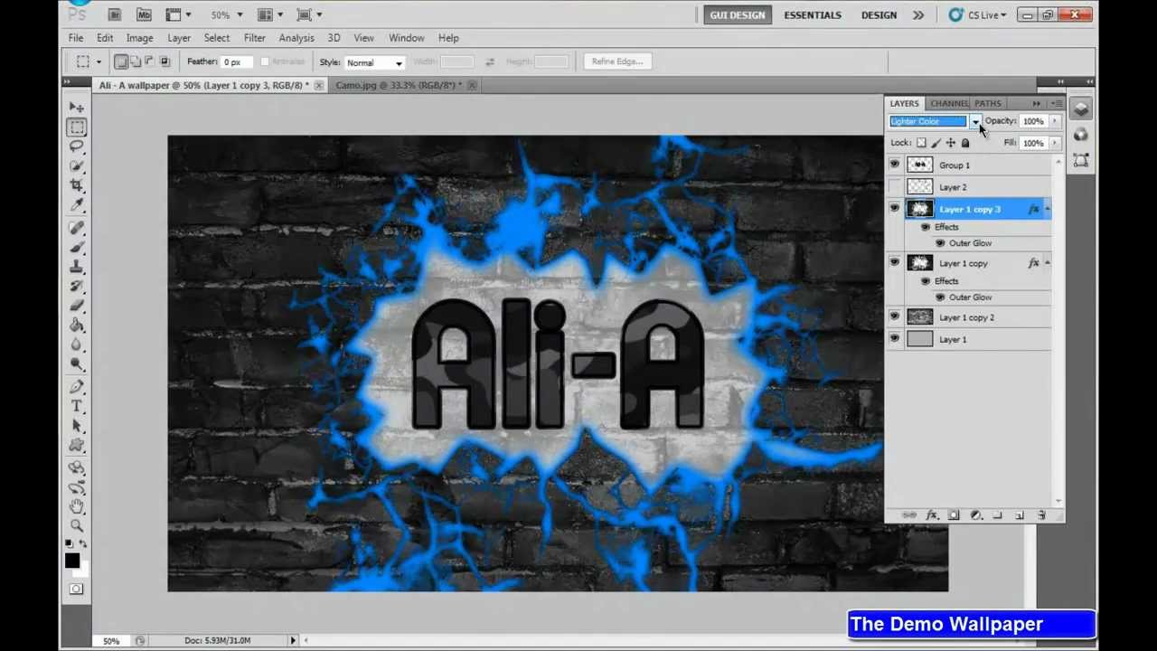 Ali A Pc Wallpaper Speed Art Youtube