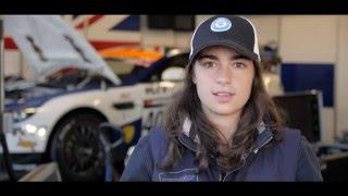 Jamie Chadwick 2015 British GT4 Champion – Aston Martin Racing V8 Vantage