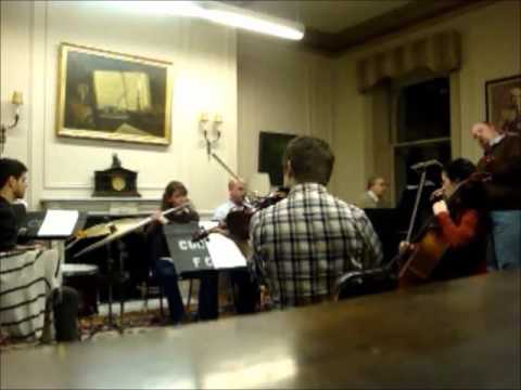 "Dolce Suono Ensemble and Randall Scarlata, baritone - David Ludwig's ""Ewigkeit"""