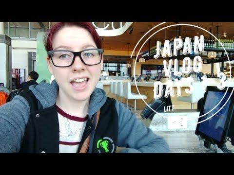 Japan Vlog: Days 1-3