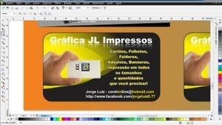 Criando Folheto, panfleto, flyer no Corel Draw / Photoshop