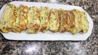 أومليت بالجبن بحجم عائلي omelette au fromage