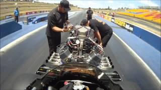 Black Widow Nostalgia Top Fuel Dragster Onboard Peter Byrne