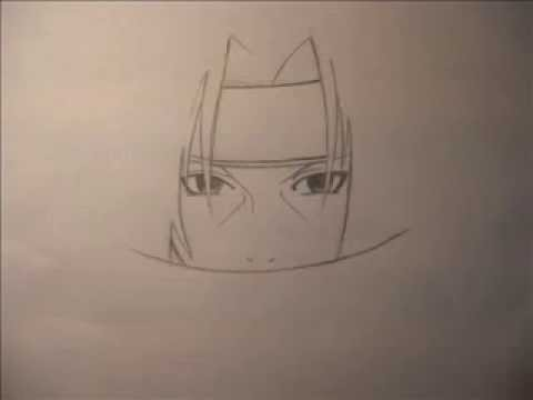 drawing of itachi uchiha