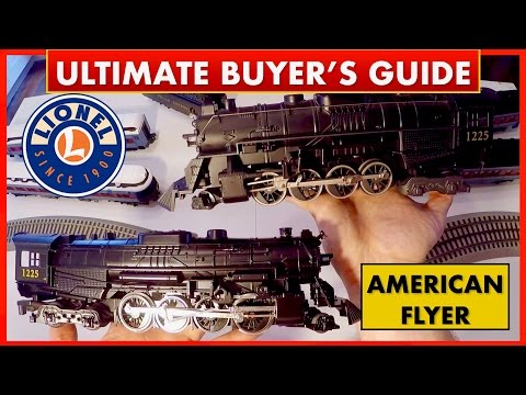 Lionel Polar Express vs American Flyer – Comparison