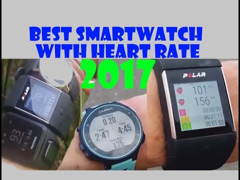 Best Smartwatch with Heart Rate 2017