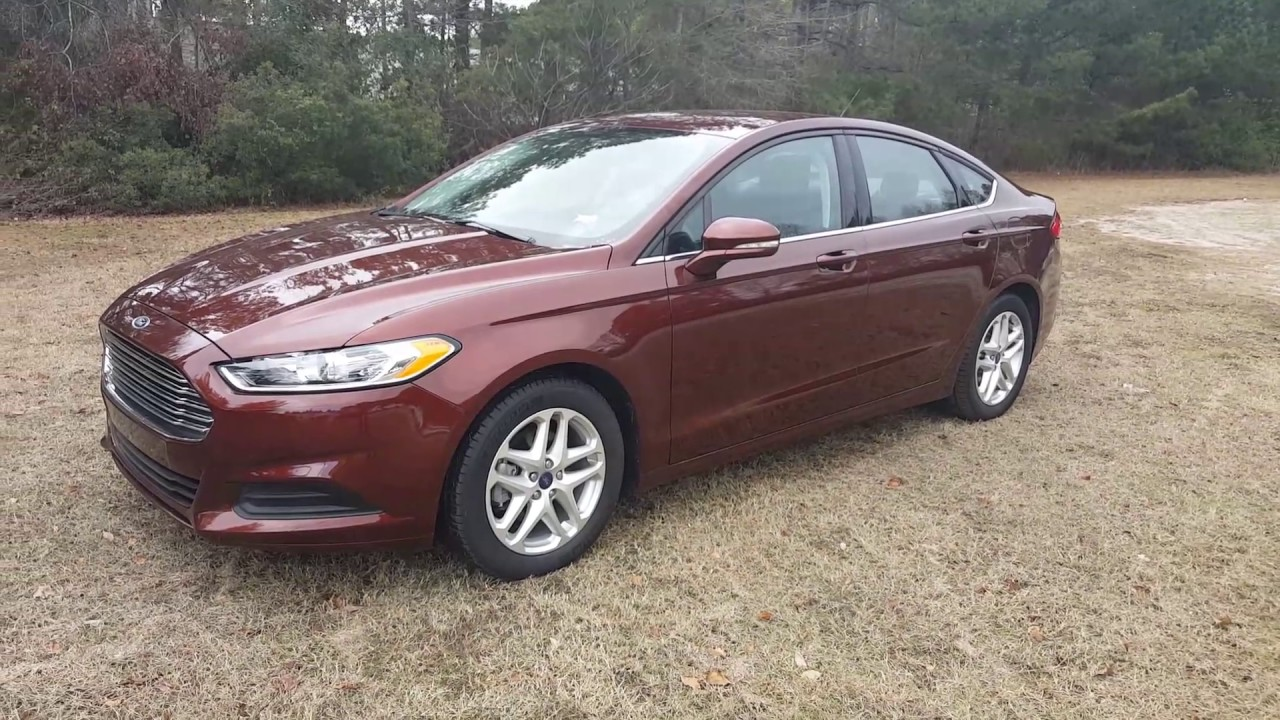 2017 Bronze Fire Ford Fusion