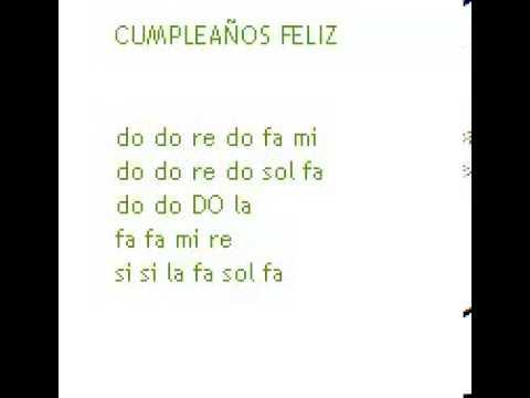 Cancion Cumpleanos Feliz Flauta Youtube