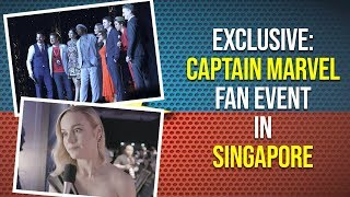 EXCLUSIVE: Captain Marvel Fan Event in Singapore | Pinkvilla | Lifestyle