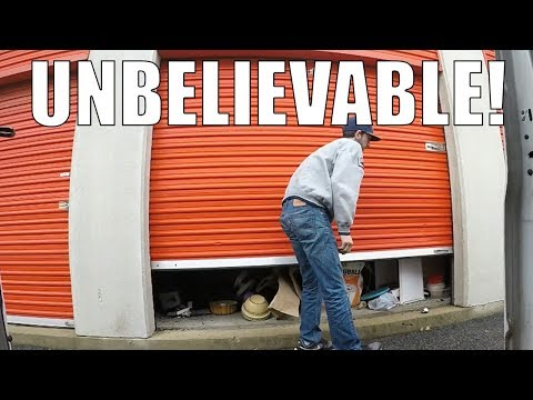 I bought a Storage Auction Locker  Heres whats inside!